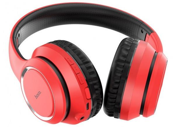 Наушники Bluetooth HOCO Journey Hi-Res W28, красные