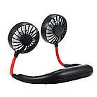 Вентилятор на шию Wearable Sports Fan ZY-A1, чорний, фото 4