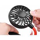 Вентилятор на шию Wearable Sports Fan ZY-A1, чорний, фото 7