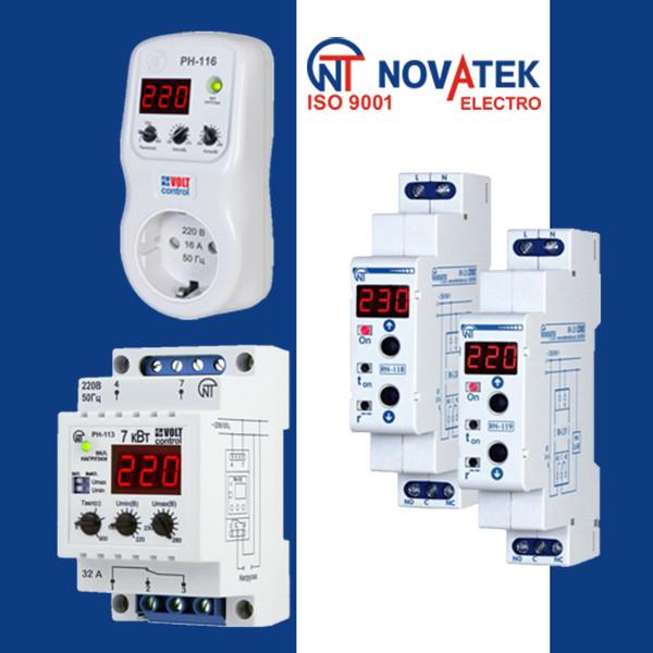 Реле напряжения Novatek Electro