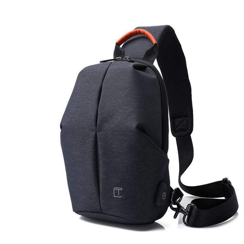 Рюкзак через плече Tangcool TC905, синій