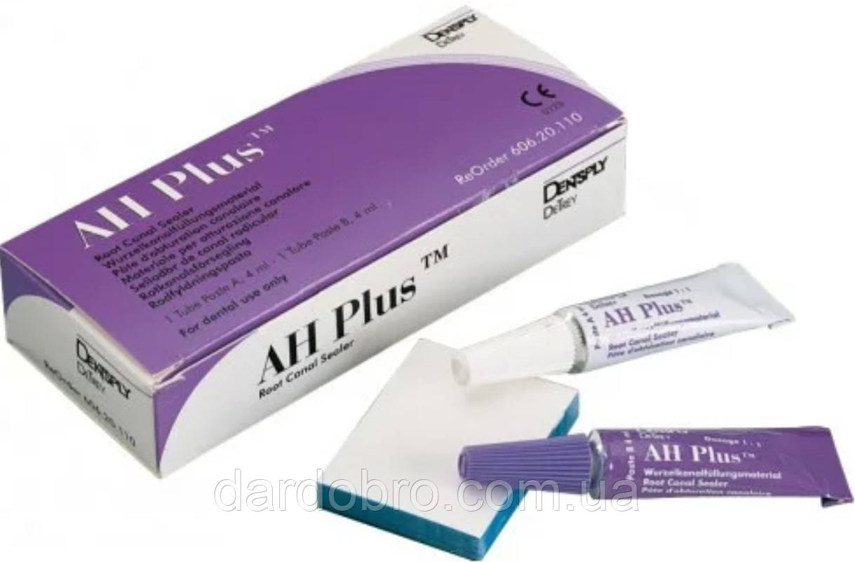 Двухкомпонентный силер для корневых каналов АН plus Dentsply Sirona