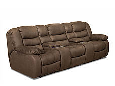 Трёхместный диван реклайнер Манхэттен с баром, фото 2