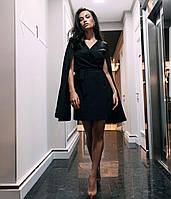 Нарядное платье с имитацией на запах.Новинка 2020, фото 1