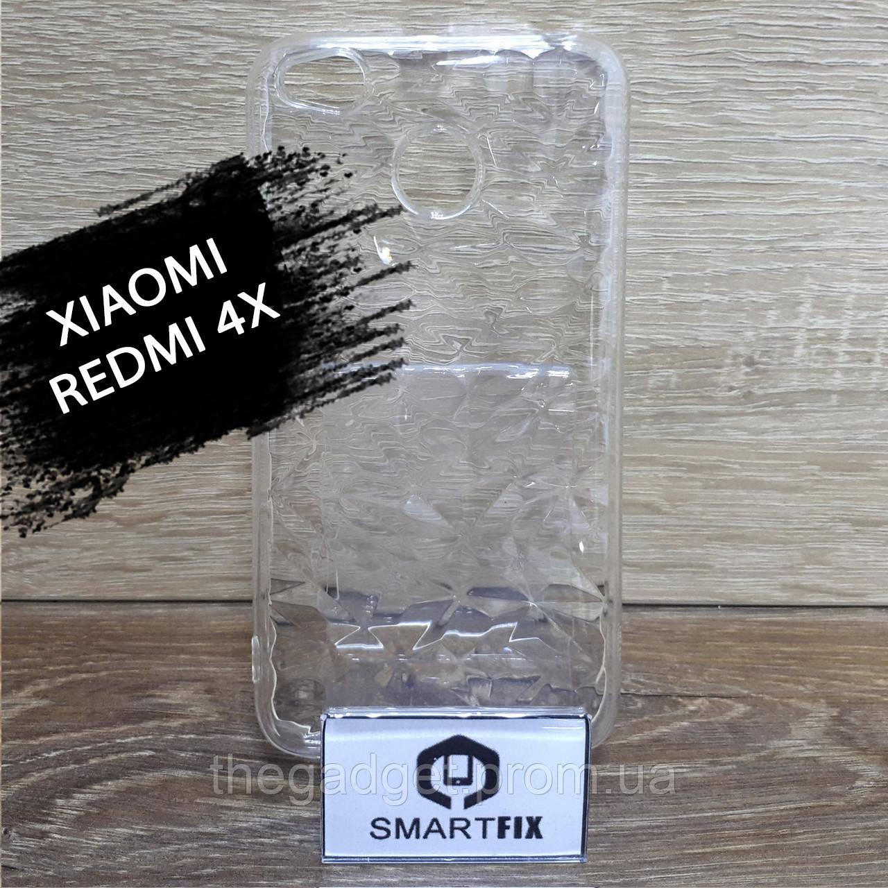 Прозрачный силиконовый чехол для Xiaomi Redmi 4X