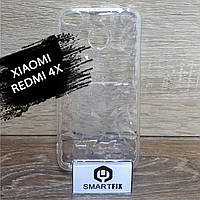 Прозрачный силиконовый чехол для Xiaomi Redmi 4X, фото 1