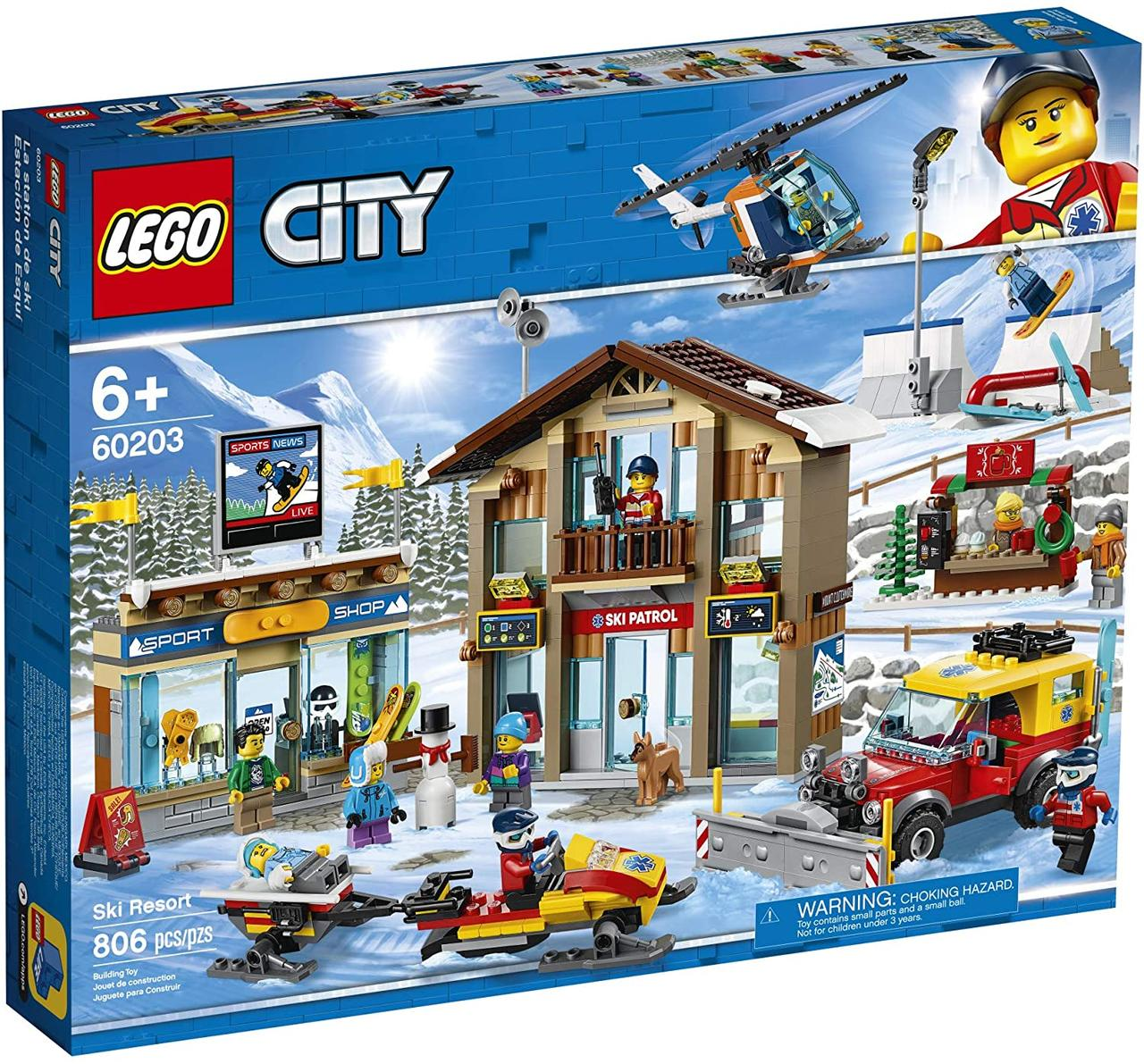 Lego City Горнолыжный курорт (60203)