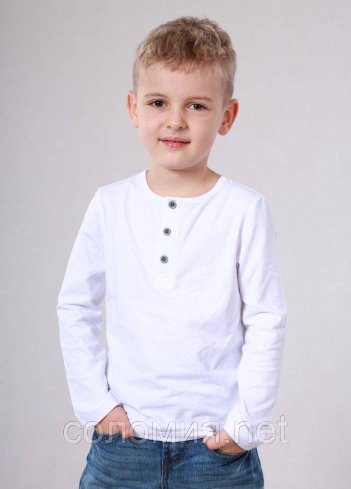 Кофта для хлопчиків - B-16345W_белый 122