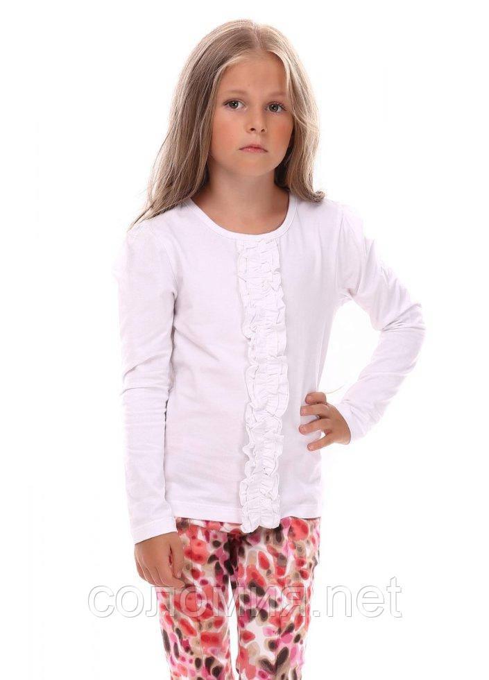 Кофта для девочек - G-15503W_белый 122