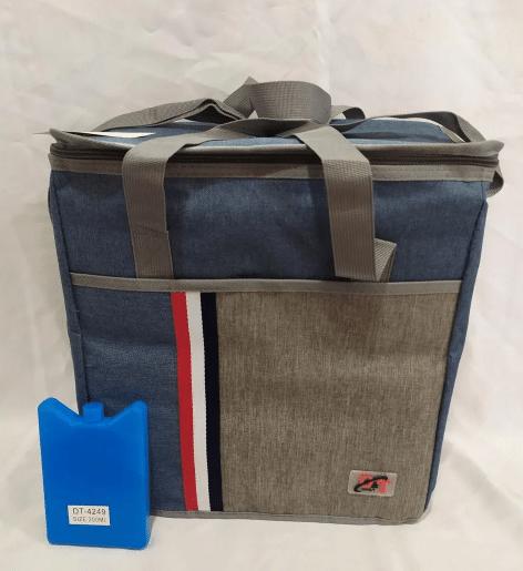 Сумка холодильник термосумка Cooling Bag DT 4241 на 27 л розмір 36х20х38 см
