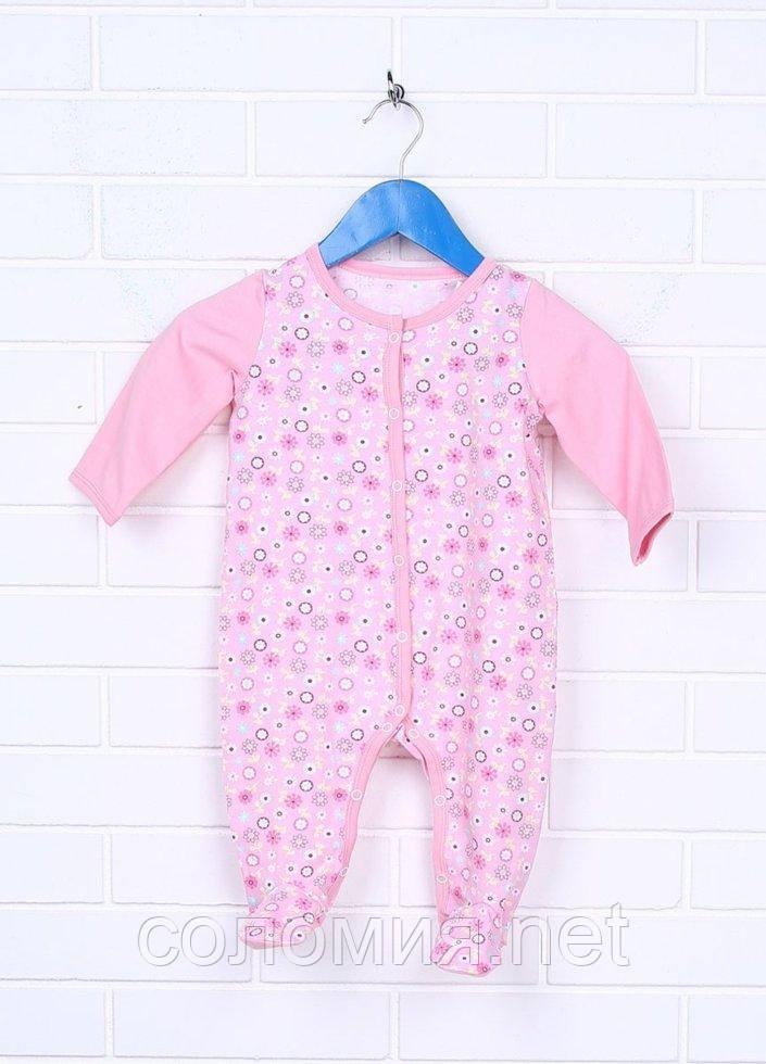 Комбинезон для малышей - К-16439-1W_розовый 62