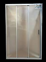 Душевая дверь в нишу Ko&Po 1001 120x180 раздвижные двери для душа матовые трехсекционные безопасное стекло