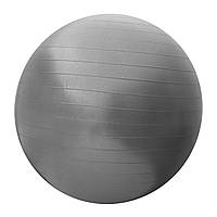 Мяч для фитнеса (фитбол) SportVida 65 см Anti-Burst SV-HK0288 Grey, фото 1
