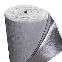 Вспененный полиэтилен фольгированный самоклеющийся 4 мм