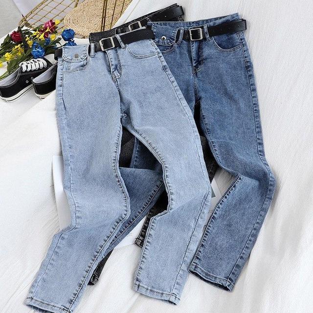 фото женские джинсы скинни