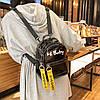 Прозрачный силиконовый рюкзак с надписью Hi Baby, фото 4