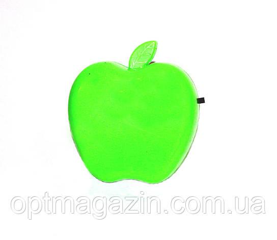 Нічник яблуко з вимикачем, фото 2