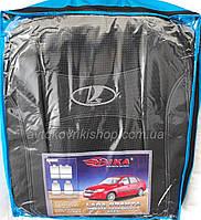 Автомобильные чехлы Lada Granta Liftback 2013-2018 Nika Авточехлы Лада Гранта лифтбек 2013-2018 Ника модельный