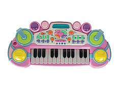 Синтезатор CY-6032B(Pink) Розовый 24 клавиши