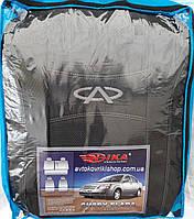 Автомобильные чехлы Chery Elara Авточехлы Чери Элара 2006- Nika модельный комплект