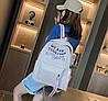 Стильные тканевые рюкзаки для школы  с линейкой, фото 3