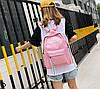 Стильные тканевые рюкзаки для школы  с линейкой, фото 6