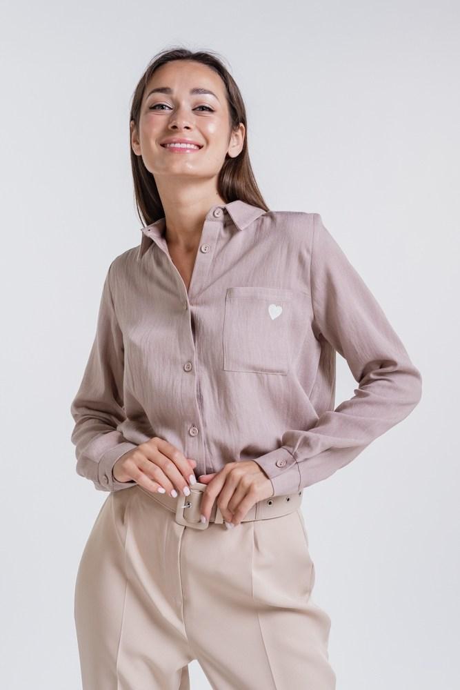 Лляна сорочка жіноча