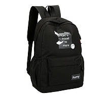 Стильные тканевые рюкзаки для школы с надписью, фото 2