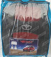 Автомобильные чехлы Daewoo Matiz HB 1998- (красные) Nika Авточехлы Дэу Матиз хэтчбек 1998- Ника модельный