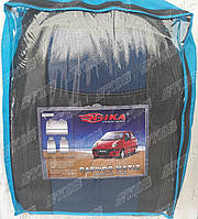 Автомобильные чехлы Daewoo Matiz HB 1998- (синие) Nika Авточехлы Дэу Матиз хэтчбек 1998- Ника модельный