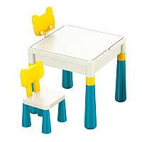 Детский стол для творчества + 2 стула