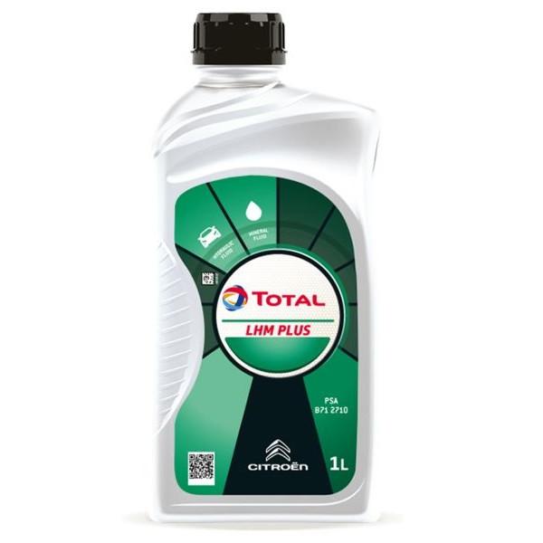 Масло гидравлическое TOTAL LHM Plus зеленая 1л (202373)