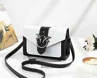 Стильная сумка сундук с декоративной пряжкой