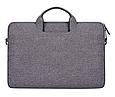 Сумка для ноутбука 15.6 дюймов Темно серый, фото 3
