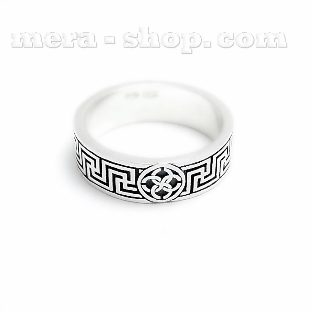 Свадебник Рысич кольцо оберег из серебра 925 пробы