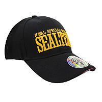 Бейсболка Han-Wild Sealteam Black мужская кепка спортивная стильная