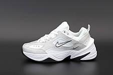 Жіночі кросівки Nike W M2K Tekno White/Silver/Black, фото 3