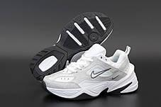 Жіночі кросівки Nike W M2K Tekno White/Silver/Black, фото 2