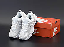 Женские кроссовки Nike W M2K Tekno White/Silver/Black, фото 3
