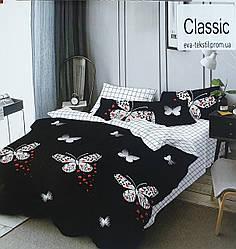 Комплект двуспального постельного белья Влюблённая бабочка