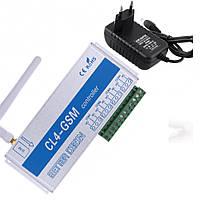 Четырехканальное GSM реле на 220 В (9-12 В) CL4-GSM