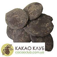 Какао тертое Callebaut, Кот-д'Ивуар 100% натуральный шоколад, каллеты. 1 кг.