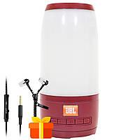 Колонка BL JBL Pulse P3 mini Red беспроводная акустика светомузыка портативная для музыки