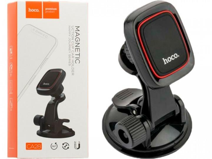Автомобільний тримач для смартфона Hoco CA28 магнітний