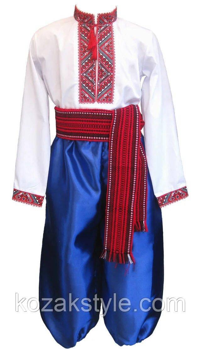 Костюм козака червоно-синій
