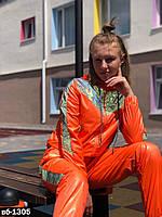 Женский стильный костюм со светоотражающими вставками РР 42-52, фото 1