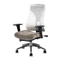Ортопедическое офисное кресло руководителя Comf-Pro Truly whitе/grey (CP8 W/G)