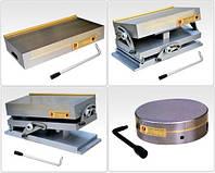 Плиты и патроны магнитные и электромагнитные