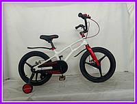 Детский  велосипед Crosser Magnesium Bike магниевая вилка колеса 18 дюймов красно-белый, фото 1