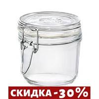 Банка для сыпучих BormioliRocco Fido 350мл стекло (141332 BR)